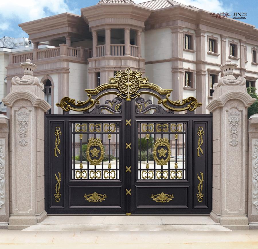 Exterior Aluminum Gate Grill Design