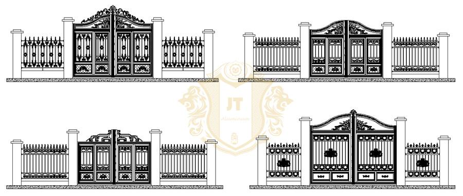 Home Design Gate Ideas: Gate Designs For Wall Compound